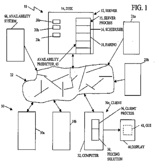 ITA cache patent application US2009234682 (A1)